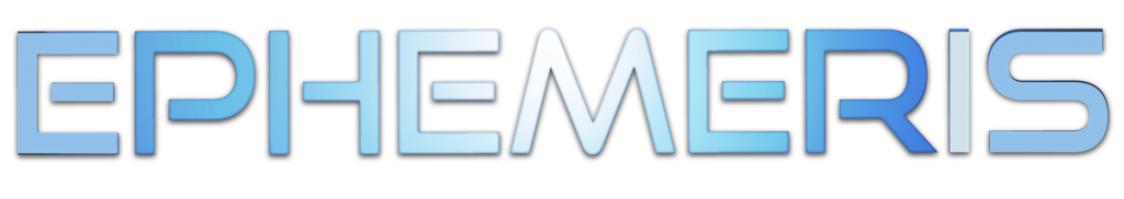 Ephemeris Logo