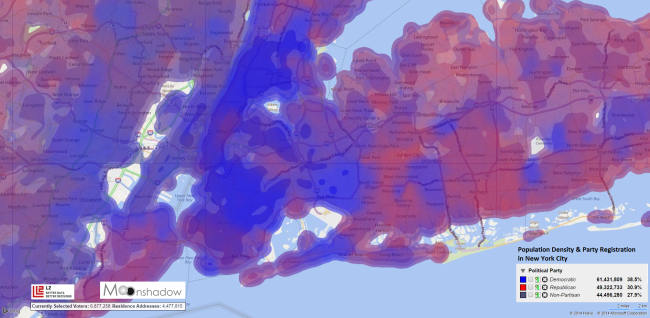 Population-Density-and-Party-Registration-in-New-York-City-Detailed